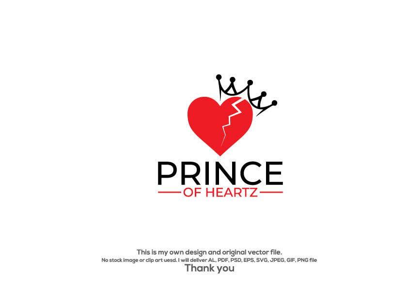 "Contest Entry #                                        234                                      for                                         ""Prince of Heartz"" Logo Concept"
