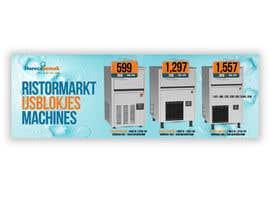 #7 para Website Banner (Ristormarkt Ice Cube Machines) por sribala84