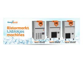 #8 para Website Banner (Ristormarkt Ice Cube Machines) por sribala84