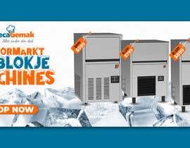#53 para Website Banner (Ristormarkt Ice Cube Machines) por imranislamanik