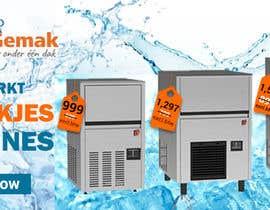 #73 para Website Banner (Ristormarkt Ice Cube Machines) por israfilbsj