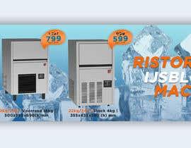 #66 para Website Banner (Ristormarkt Ice Cube Machines) por begummohima5456