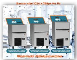 #64 para Website Banner (Ristormarkt Ice Cube Machines) por RiponBiswas1751