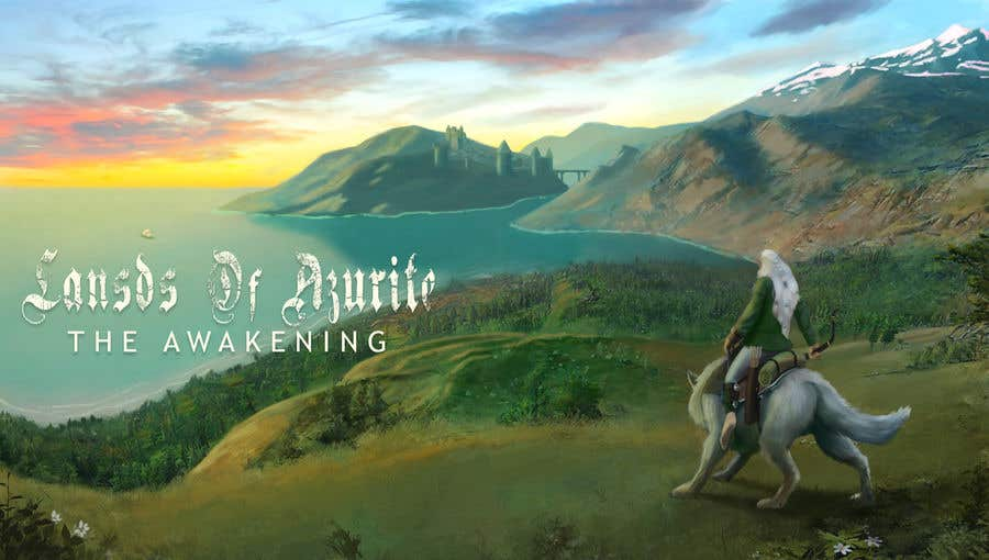 Proposition n°                                        36                                      du concours                                         Concept Cover art for a MMO game