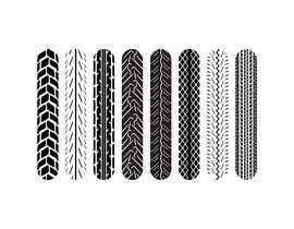 nº 40 pour Tire pattern design par sharminnaharm