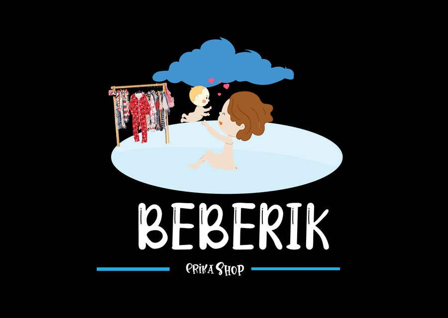 Konkurrenceindlæg #                                        106                                      for                                         Logo Design for a baby clothing shop