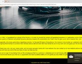 Nro 55 kilpailuun Onepager für Produkt erstellen käyttäjältä FahadTariq123