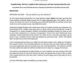 rigel07 tarafından Write me a press release  that is  the best in the world için no 29