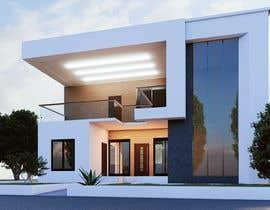 #26 for Design a minimalistic home exterior design as per the attached floor plan. af CaesarEj