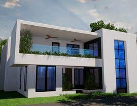 #8 for Design a minimalistic home exterior design as per the attached floor plan. af SsArchInt