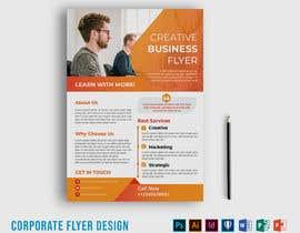 #46 for Need A Long One-Page Flyer af mekerdesigner