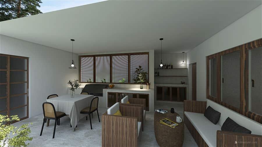 Penyertaan Peraduan #                                        7                                      untuk                                         Building a covered terrace with room for office & bathroom + laundry & storage area