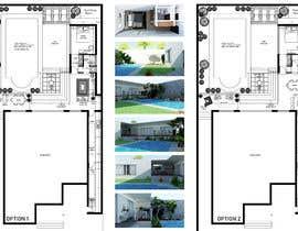 Nro 14 kilpailuun Building a covered terrace with room for office & bathroom + laundry & storage area käyttäjältä Niranjanisunil