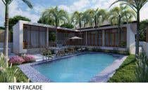 3D Rendering Entri Peraduan #6 for Building a covered terrace with room for office & bathroom + laundry & storage area