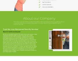 Nro 50 kilpailuun Mockup Design a unique and fresh looking website for locksmith käyttäjältä eyrieteck