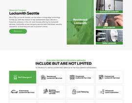 Nro 54 kilpailuun Mockup Design a unique and fresh looking website for locksmith käyttäjältä Creativeboione