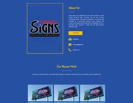 #22 for Wordpress front page theme with 3 inner pages. by mnislamsaju2