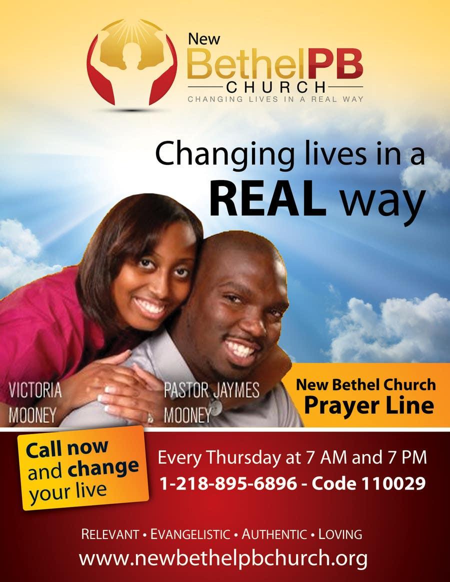 Konkurrenceindlæg #10 for Prayer Line Flyer