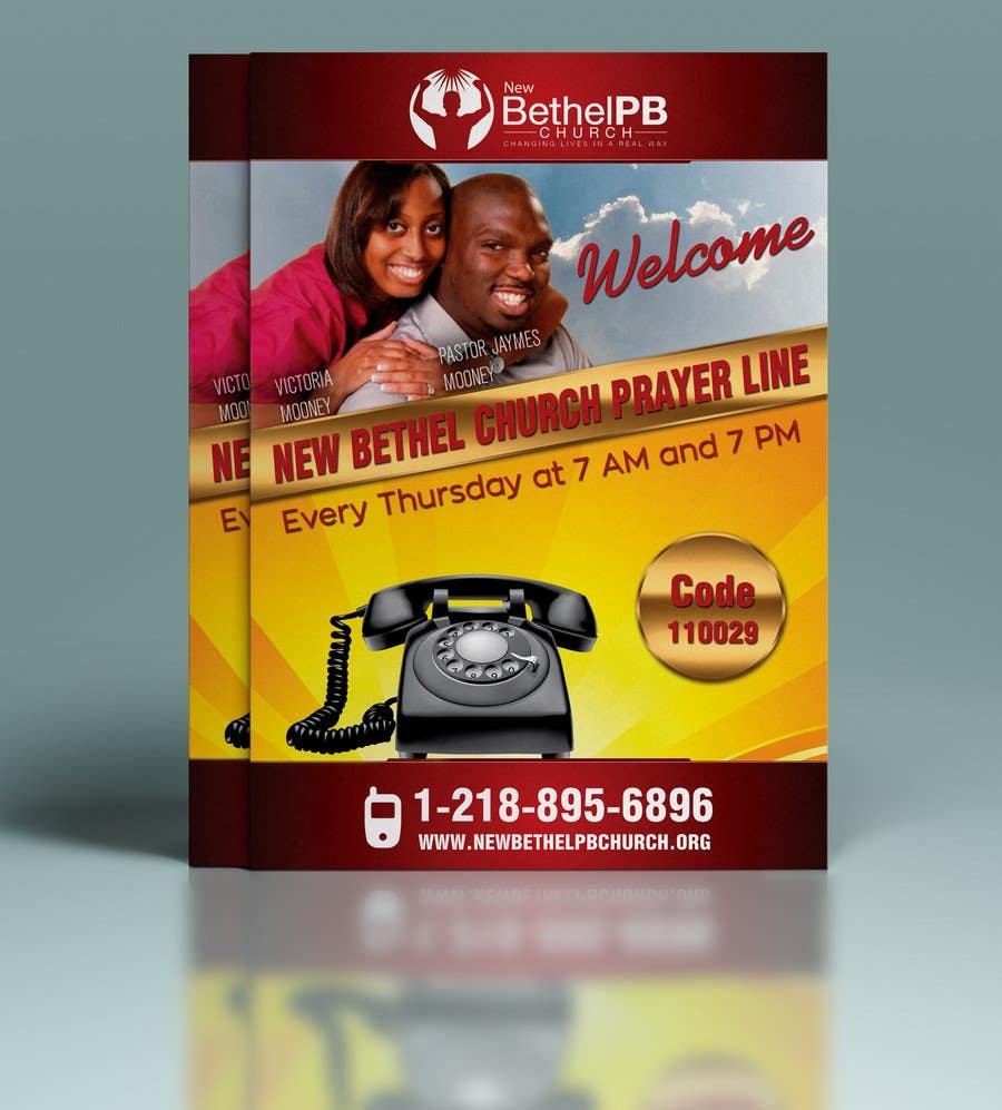 Konkurrenceindlæg #8 for Prayer Line Flyer