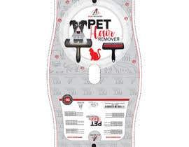 Nro 23 kilpailuun Pet Hair Remover packaging käyttäjältä sobujfreelancer