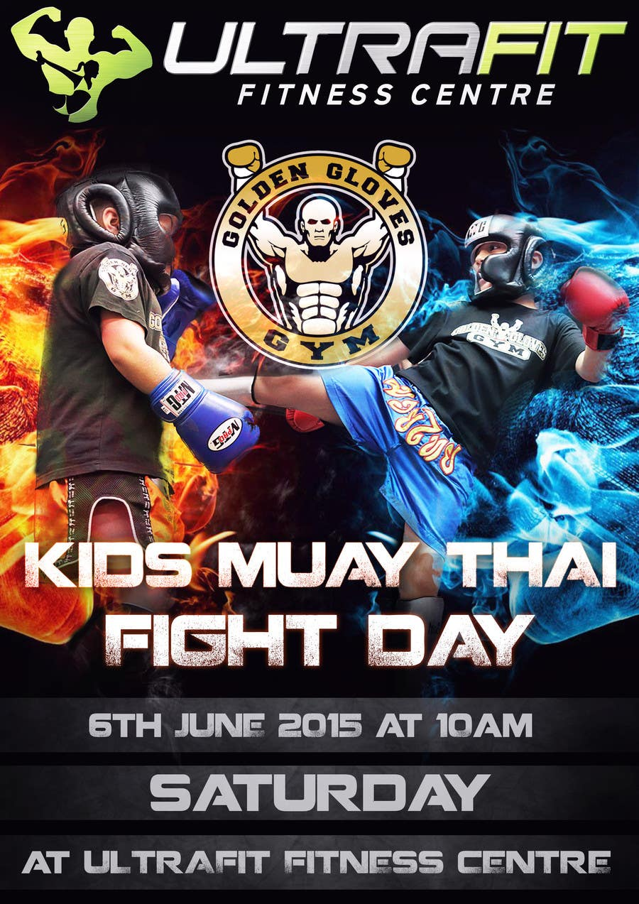 Contest Entry #                                        21                                      for                                         Design a Flyer for KIDS FIGHT DAY