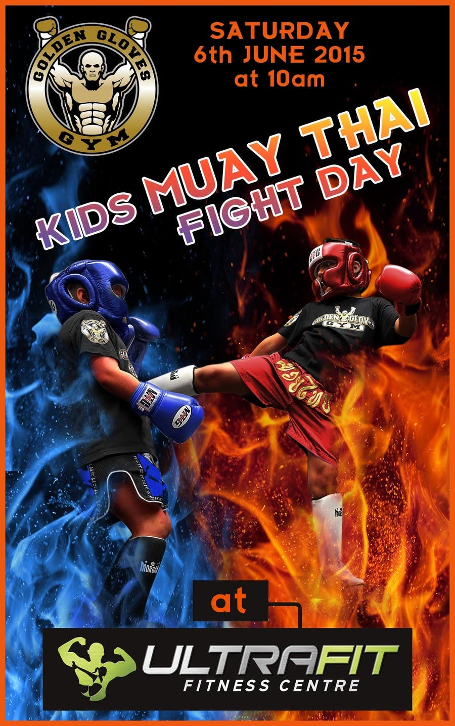 Contest Entry #                                        18                                      for                                         Design a Flyer for KIDS FIGHT DAY