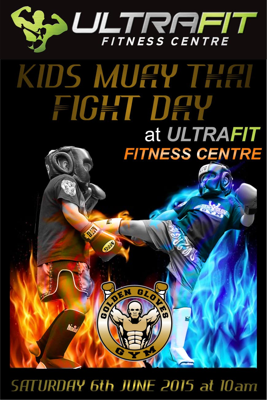 Contest Entry #                                        6                                      for                                         Design a Flyer for KIDS FIGHT DAY