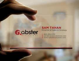 Nro 7 kilpailuun Design transparent business card käyttäjältä R4960