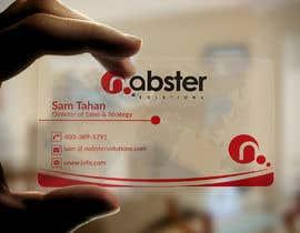 Nro 351 kilpailuun Design transparent business card käyttäjältä greenartcreative