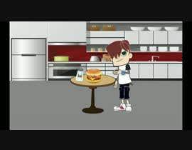 #15 para Animation of preparing particular food items por MuhammadSabbah