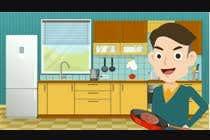3D Animation Inscrição do Concurso Nº2 para Animation of preparing particular food items