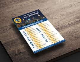 nº 15 pour Design a calendar flyer par mtagori1