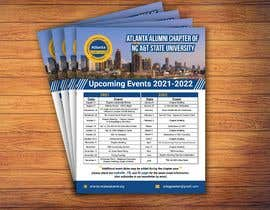 nº 83 pour Design a calendar flyer par parthassb5551