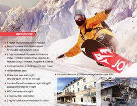 nº 31 pour Design a Flyer for Company Snow Tour par Ollive