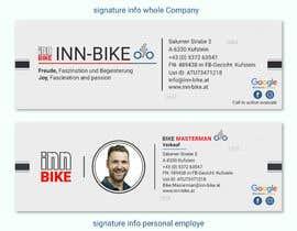 #43 para Design for 2 email signatures (Company, Employee) por diconlogy