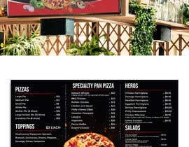 #34 cho Create an Italian restaurant (pizza, etc.) menu to be displayed on a TV bởi Rameezraja8