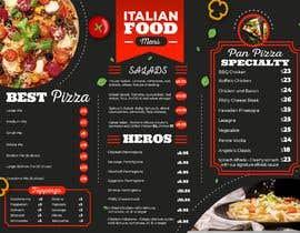 #30 cho Create an Italian restaurant (pizza, etc.) menu to be displayed on a TV bởi phannguyenhongtr