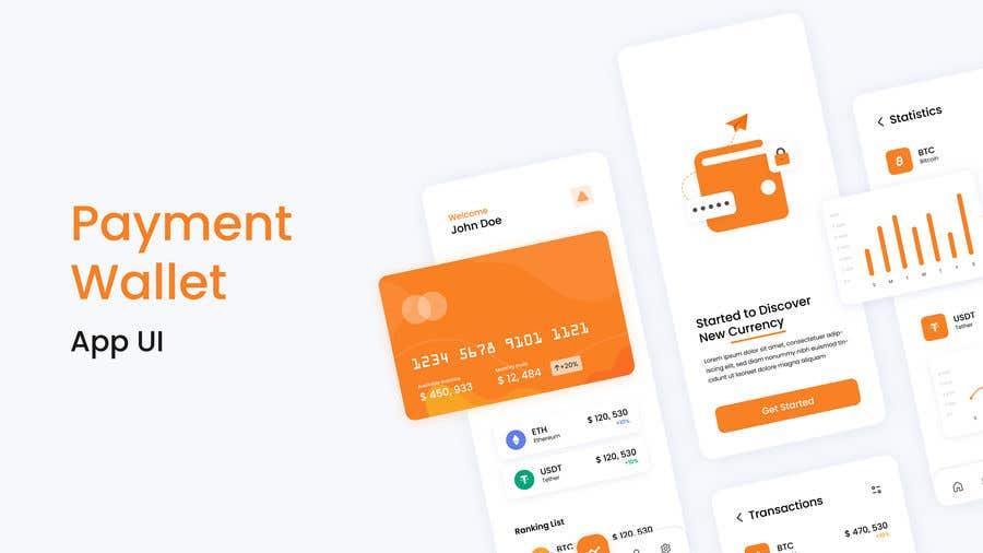 Proposition n°                                        16                                      du concours                                         Design a payment wallet ui