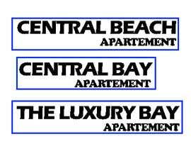 Nro 223 kilpailuun Name these Luxury Beach Apartments käyttäjältä NicoSanjaya91
