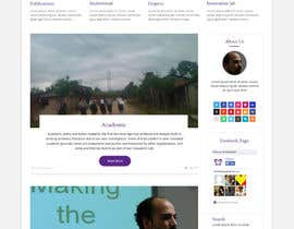 #23 for Design a Website Mockup for international NGO by syrwebdevelopmen