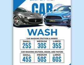 #15 untuk Price Board and IG Post Design for Car Wash Shop oleh imranislamanik