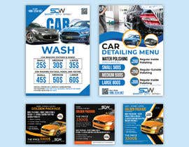 #20 untuk Price Board and IG Post Design for Car Wash Shop oleh imranislamanik