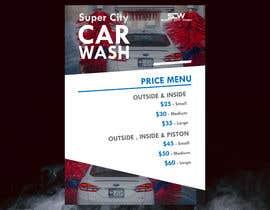 #25 untuk Price Board and IG Post Design for Car Wash Shop oleh Rezowanislamrir