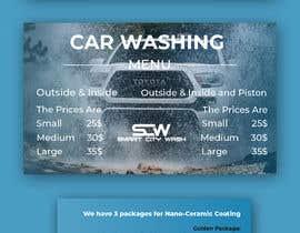 #27 untuk Price Board and IG Post Design for Car Wash Shop oleh skhawathosensk