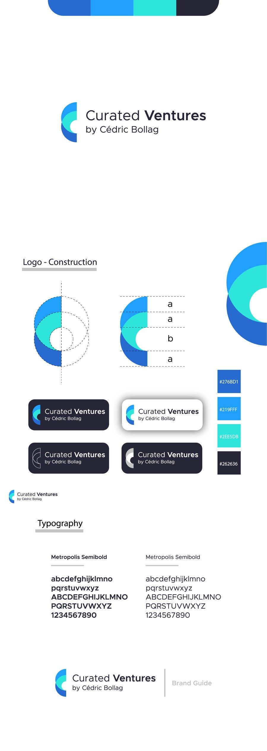 Kilpailutyö #                                        173                                      kilpailussa                                         Re-Design current logo // Brand Guide Adjustements