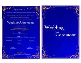 Nro 21 kilpailuun create wedding invitation card käyttäjältä marufhossainmp