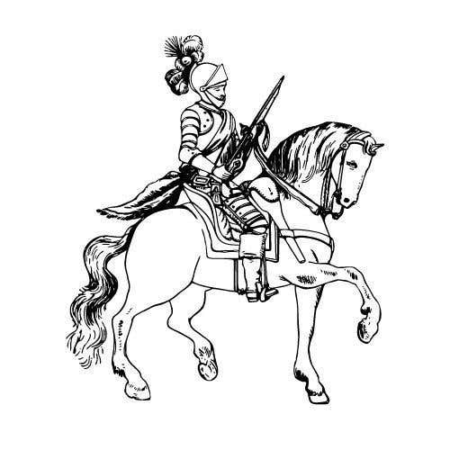 Konkurrenceindlæg #                                        14                                      for                                         Create 4 unique medieval knight characters for a card game (If we're satisfied with the quality we will be commission you to complete the rest of the set. There will be 2,400 needed in total)