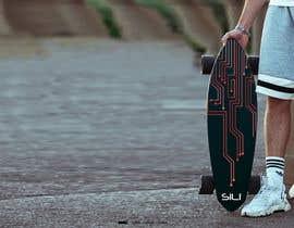 nº 38 pour Design Electric Skateboard Grip Tape (top of skateboard) par Tounsiadem