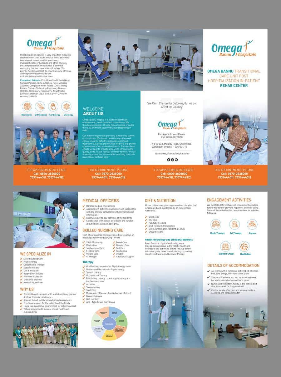 Bài tham dự cuộc thi #                                        47                                      cho                                         brochure design  for a rehab center