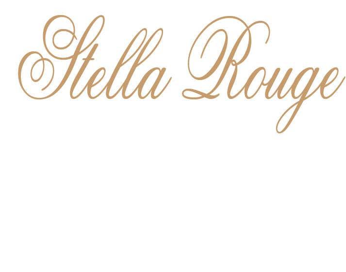 Inscrição nº                                         40                                      do Concurso para                                         Stella Rouge logo needed